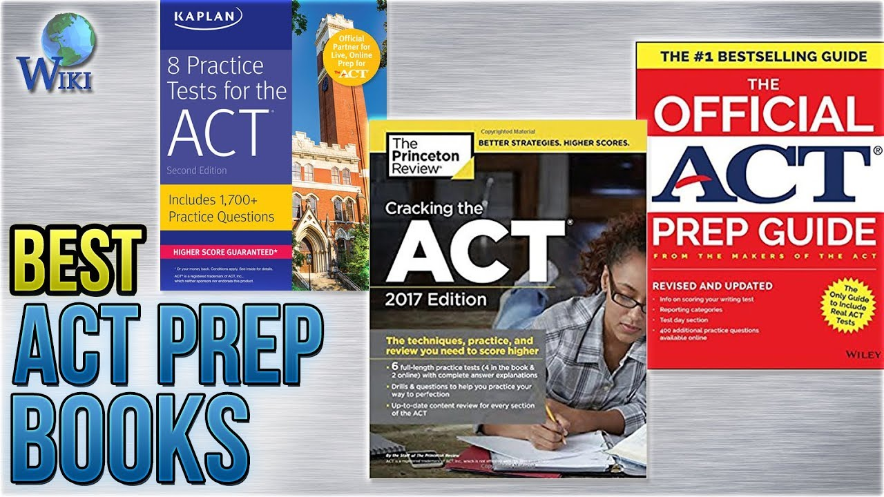 10 Best ACT Prep Books 2018