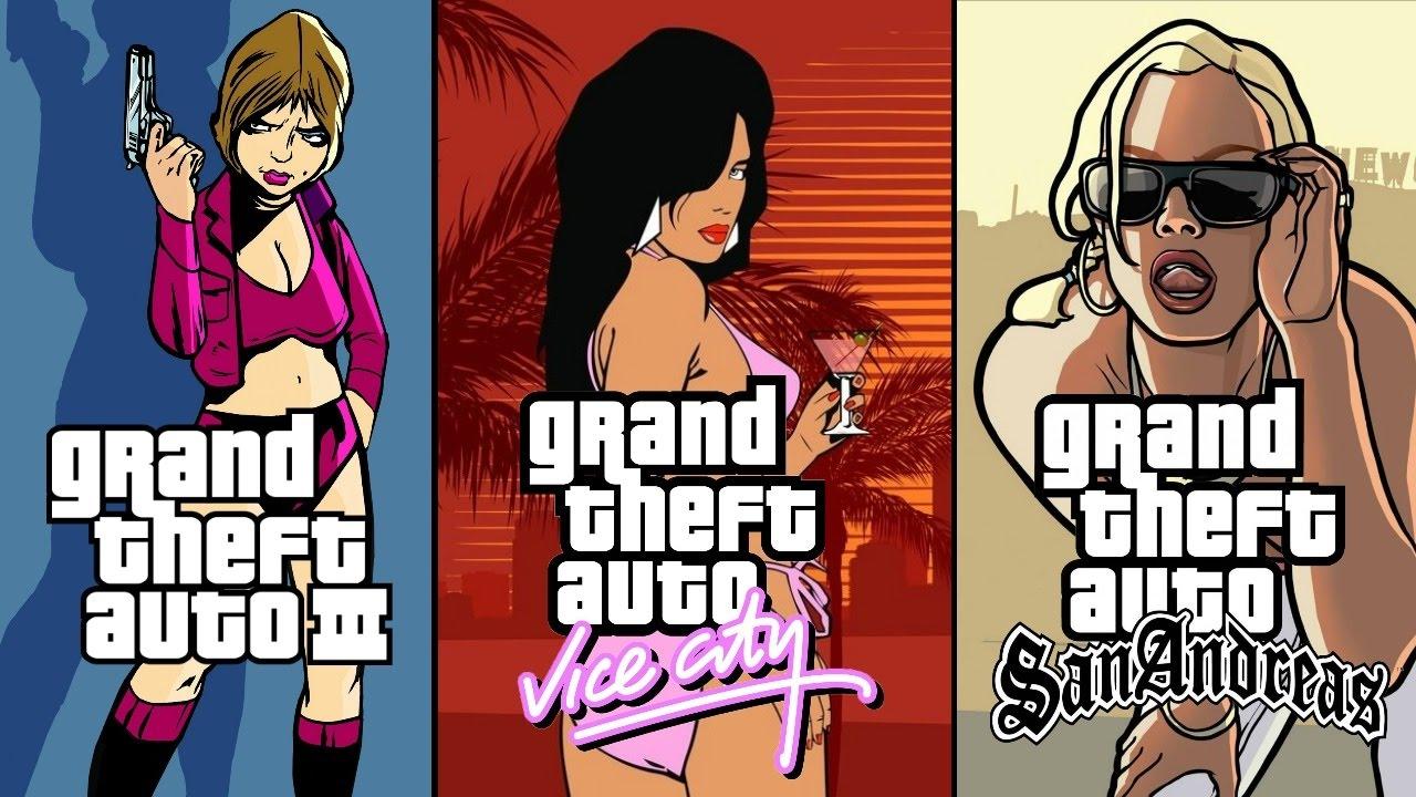 Nostalgia Trip - GTA 3, Vice City & San Andreas (100k Sub Special ...