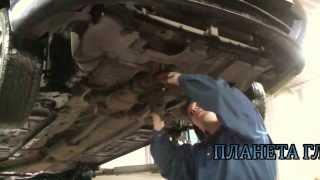 Установка пламегасителя и замена гофры на авто Kia Spectra.Установка пламегасителя в СПБ.(, 2013-11-21T08:46:50.000Z)
