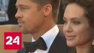 Анджелина Джоли будет судиться с Брэдом Питтом из-за неуплаты алиментов - Россия 24