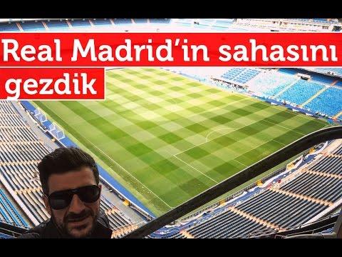 Doğan Kabak | Real Madrid'in Futbol Sahası Santiago Bernabéu'yu Gezdik - Vlog