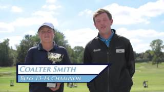 Detroit Junior Open at Fieldstone GC Interviews