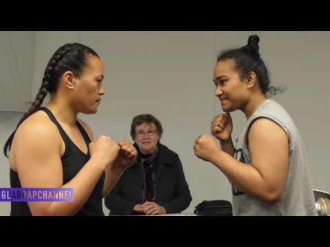 Face Off - NZ#1 Nailini Helu (Tonga/Auckland) vs Ange Davis (Auckland)