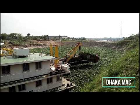 Last Video Before Eid, Amin Momin Housing Dredging Work | Turag River News 2019| BIWTA Latest Update