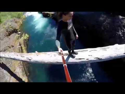 Upper Clackamas River Spearfishing, Snorkeling And Log Jumping Oregon