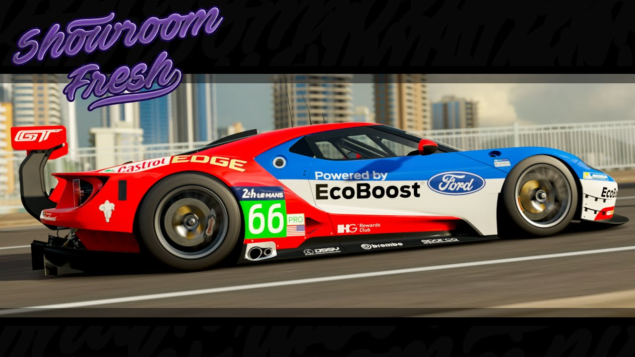 Forza Horizon Ford Ford Racing Gt Le Mans Youtube