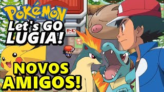 GOLDENROD CITY E NOVOS POKÉMON - Pokémon Let's Go LUGIA! (Detonado - Parte 3)
