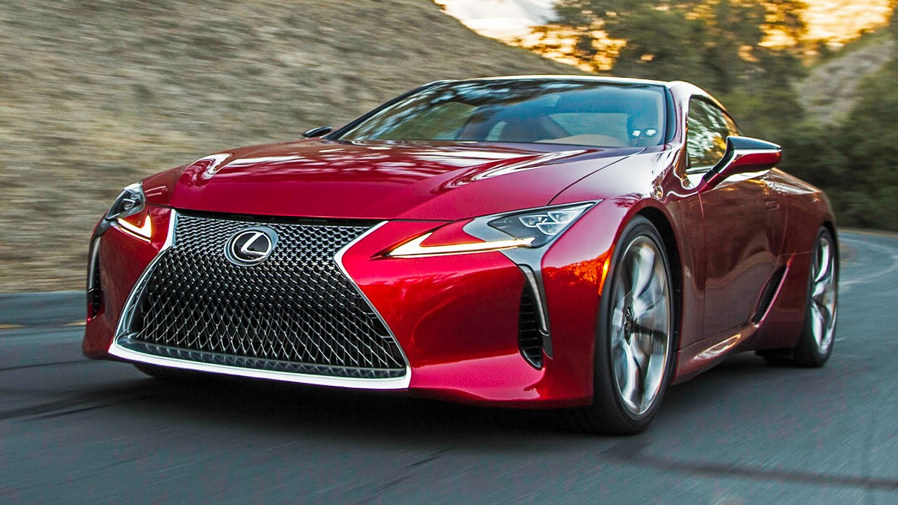 Inside The All-New Lexus LC 500!