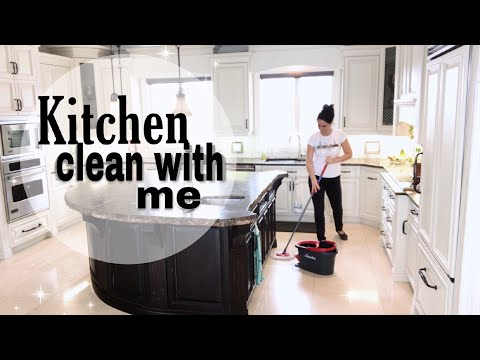 CLEAN WITH ME: KITCHEN CLEAN MOTIVATION