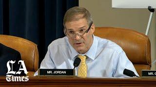 Rep. Jim Jordan challenges ambassador's 'clear understanding'