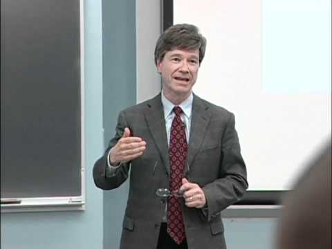 Jeffrey Sachs - Ending Poverty in Our Generation