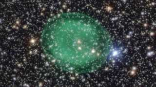 'Green Bubble' Planetary Nebula Seen In Greatest Detail Yet | Video