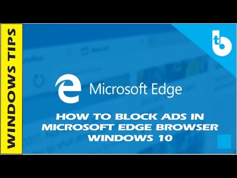 Ad Blocker For Microsoft Edge Browser in Windows 10 - YouTube
