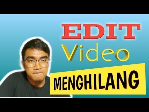 Cara Edit Efek Menghilang Melalui Handphone | Edit Video Menghilang Kinemaster