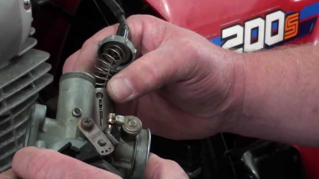 small resolution of pt 2 5 honda atc200s carb service youtube honda trx 200 carb diagram