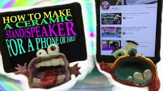 Art Project Demo - Ceramic Phone/Tablet Stand