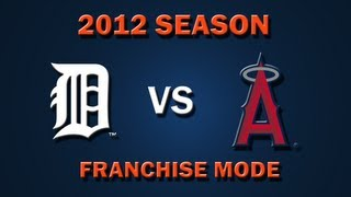 MLB 2K12: Detroit Tigers vs. Los Angeles Angels of Anaheim - Franchise Mode