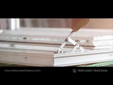 FORTUNNE WINDOW DESIGNS: uPVC window Manufacturing Process