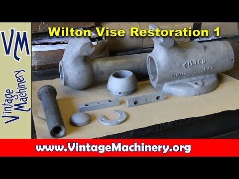 Wilton Vise Restoration Part 1: Disassembly and Cleaning