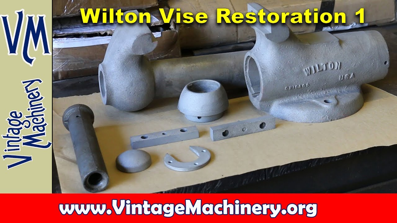 Wilton Vise Parts >> Wilton Vise Restoration Part 1 Disassembly And Cleaning Youtube