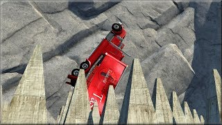 BeamNG Drive - The Spike Pit Of Death Returns to Insane Testing