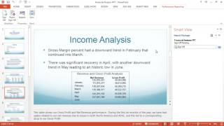 Signing off on Microsoft PowerPoint-Based Report Packages in Smart View video thumbnail