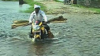 Река Ганг топит деревни в Индии (новости)
