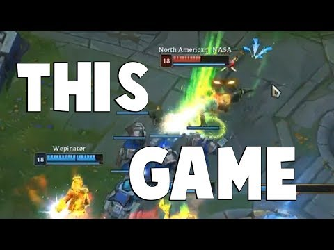 The Closest League of Legends Game We've Seen in a While | Funny LoL Series #490 thumbnail