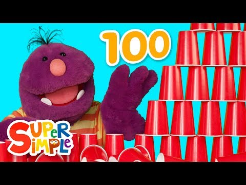 Celebrating The 100th Day Of School with Milo the Monster  Crafts For Kids