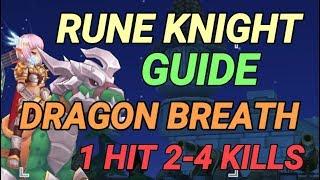 Dragon Breath Guide Rune Knight Ragnarok M Eternal Love