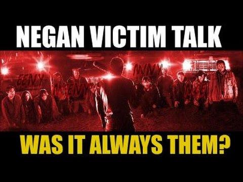 The Walking Dead Season 7 Spoilers Negan Victim Breakdown History
