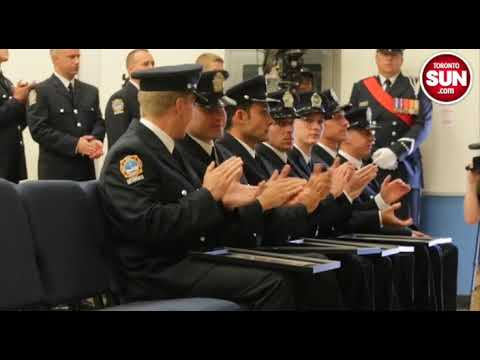 Grad Ceremony For New Toronto Firefighters