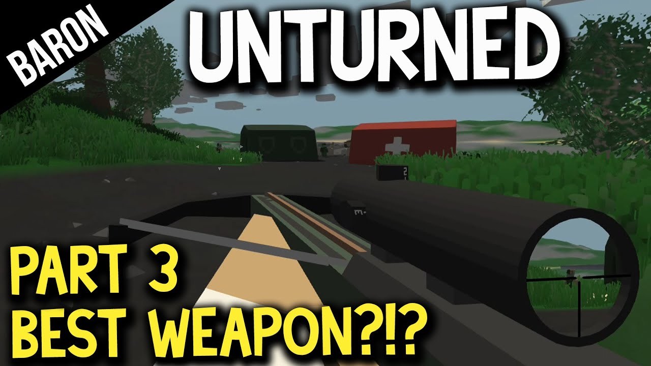 Download Unturned Part 3 - Best Weapon in the Game!? Sniper Crossbow! DayZ and MineCraft!