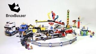 Lego 10244 Fairground Mixer - Lego Speed Build
