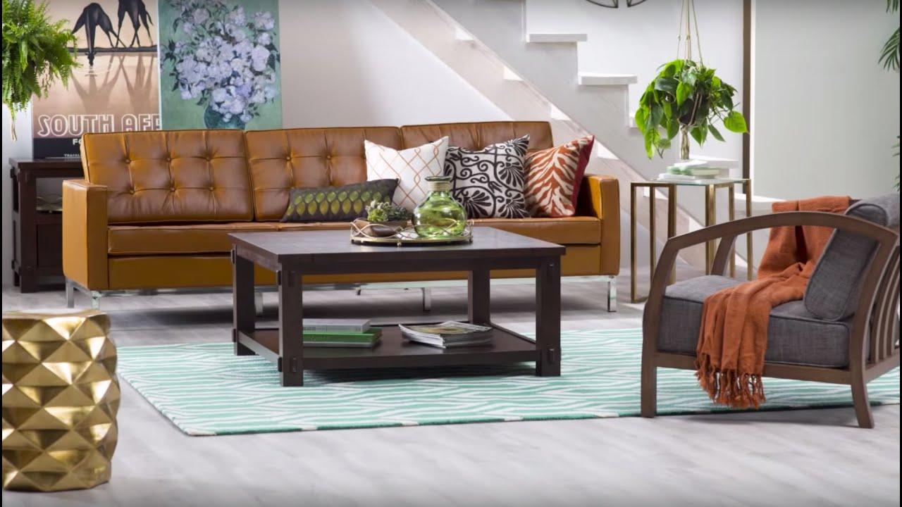 Mid Century Modern Living Room Mid Century Modern Living Room Hayneedlecom Youtube