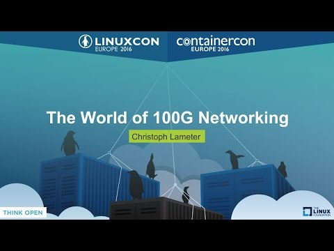 The World Of 100G Networking By Christoph Lameter