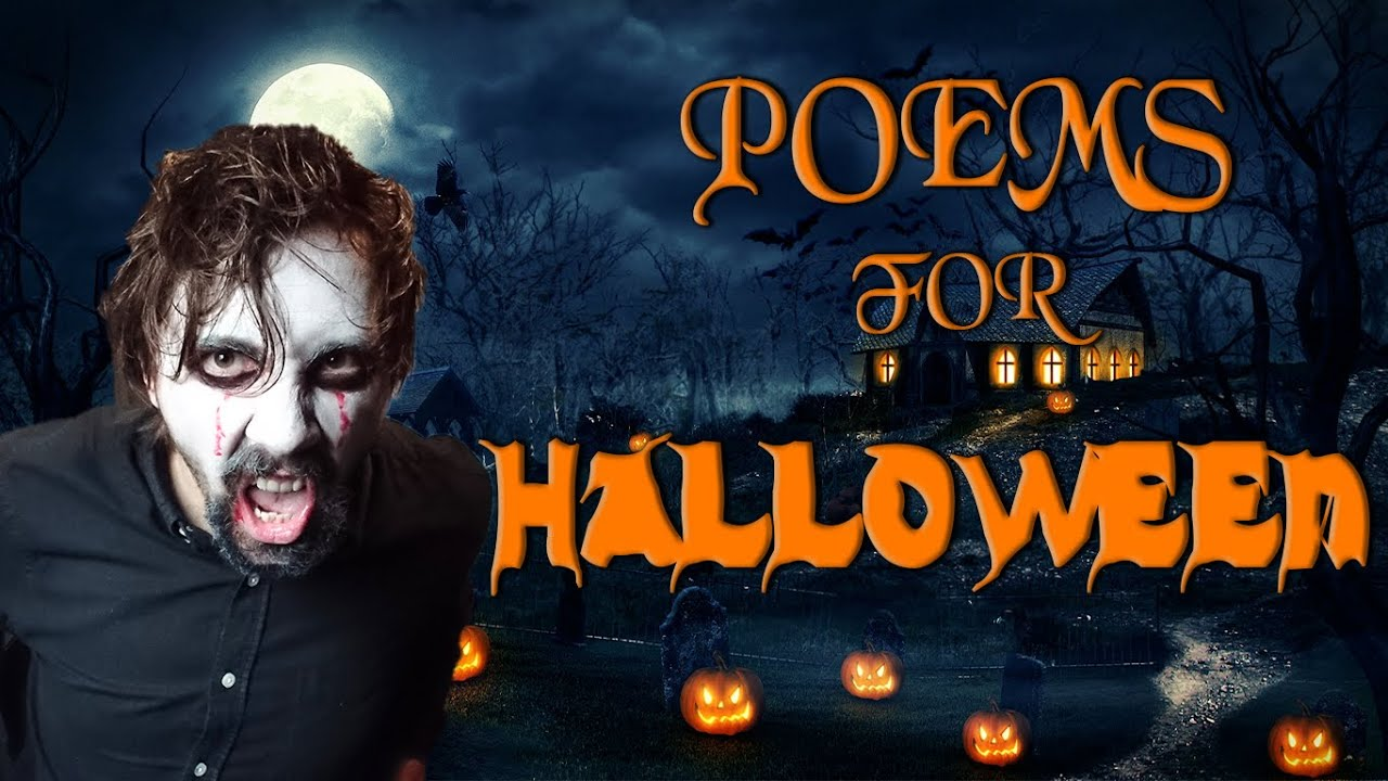 FUN AND SPOOKY HALLOWEEN POEMS!   By Adam Gary - YouTube