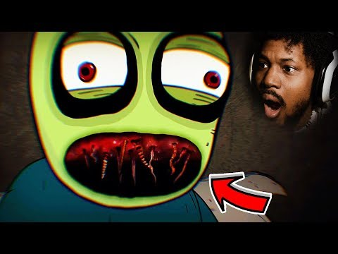 HAVE YOU HEARD OF SALAD FINGERS? | Reacting To Scary Stories (SSS)