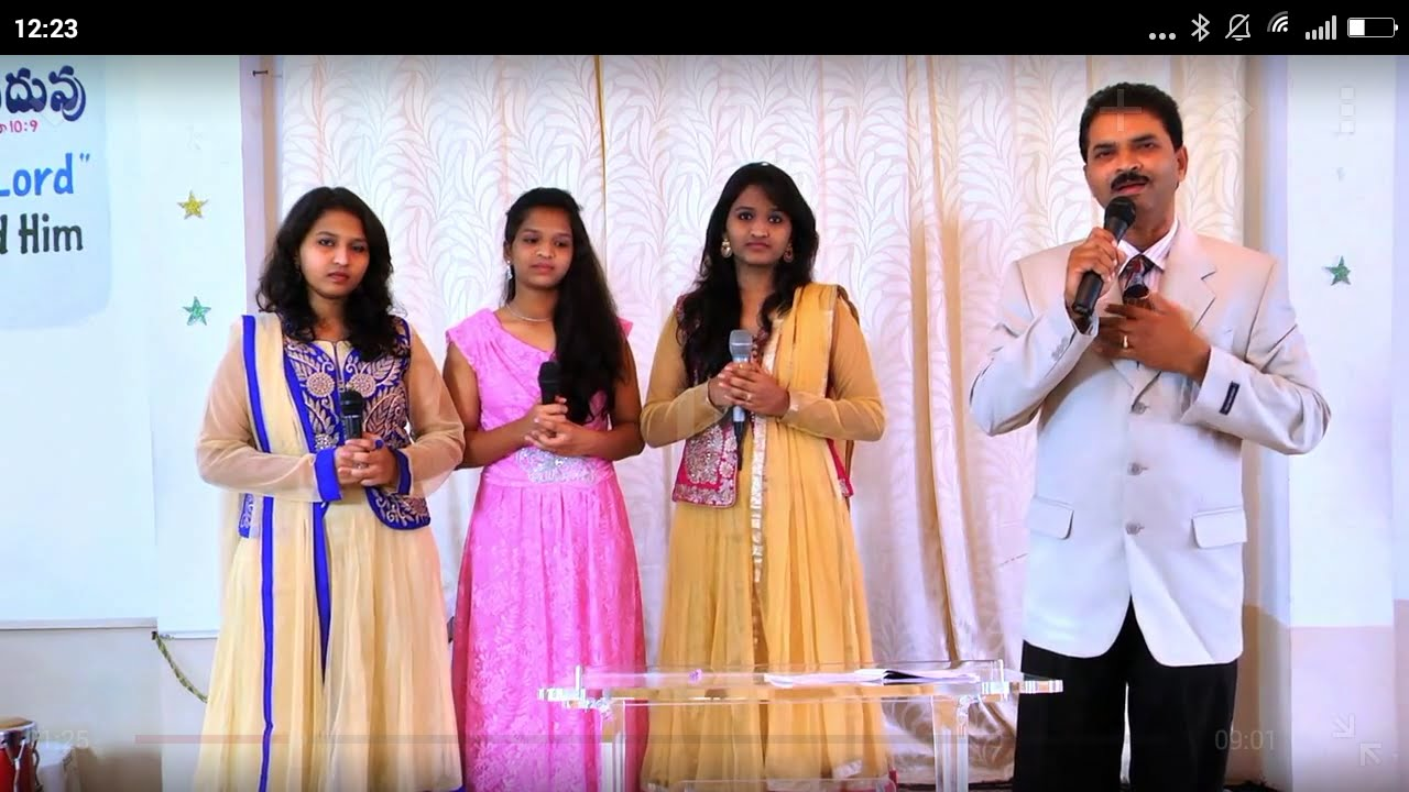 Telugu christian worship song \