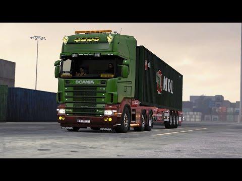 ETS 2 1.26 ProMods 2.15 Scania 164L  Bremerhaven - Dortmund