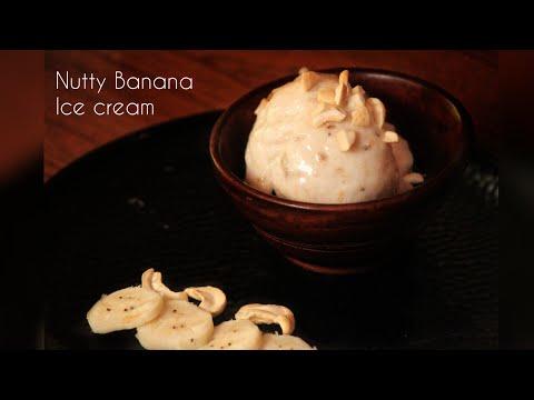 Nutty Banana ice-cream /banana ice cream