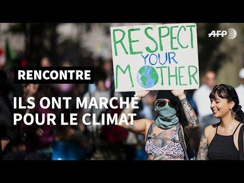 AFP: Climat : ils ont marché pour la planète | AFP News
