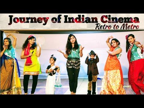 Journey Of Indian Cinema | Retro To Metro | Group Theme Dance | ABS