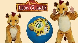 Disney The Lion Guard Super Giant Toys Surprise Egg Opening Toys Unboxing  Fun With Kion Ckn Toys