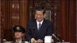 3月13日に行われた国会本会議での一幕 自民党議員で議事進行役の橘慶...