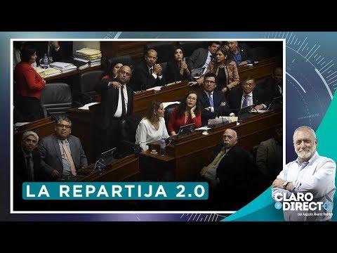 La repartija 2.0 - Claro y Directo con Augusto Álvarez Rodrich