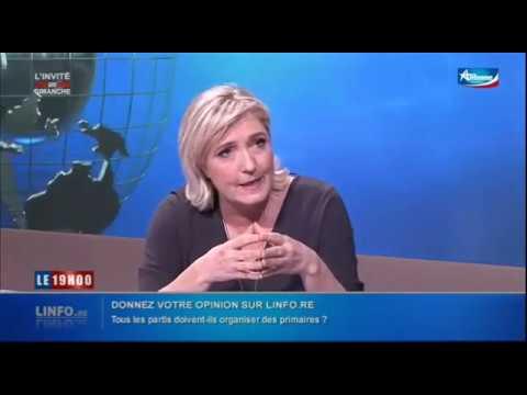 Marine Le Pen à la Réunion