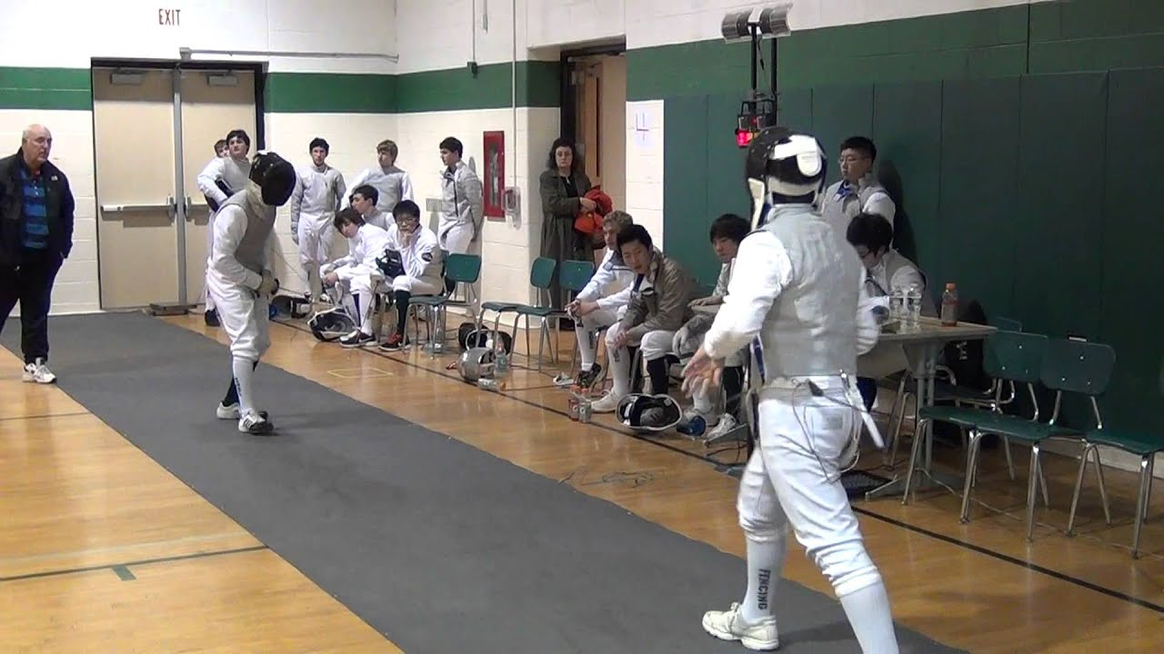 Mens high school fencing don bosco vs ramapo