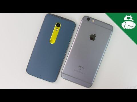 Moto X Pure Edition (Style) VS iPhone 6S Plus