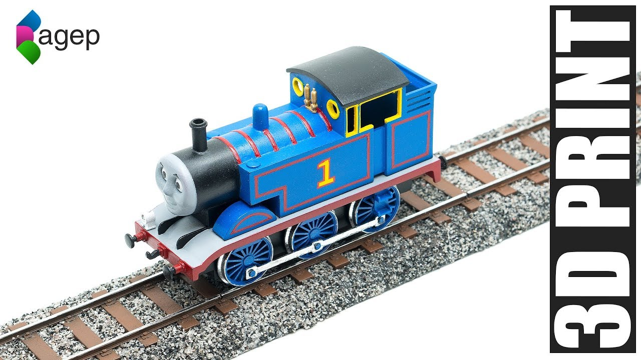 3D Printing Model Railroad Track - Thomas & Friends Fanart